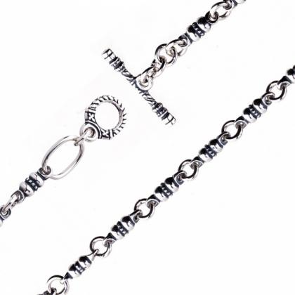 Серебряная цепь 430001