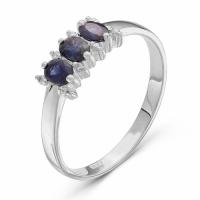 Серебряное кольцо с фианитом 130020