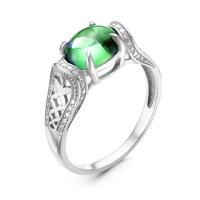 Серебряное кольцо с фианитом 130116