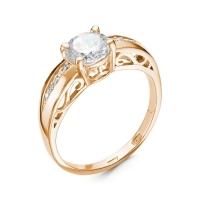 Серебряное кольцо с фианитом 140010