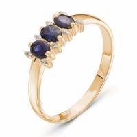 Серебряное кольцо с фианитом 140105