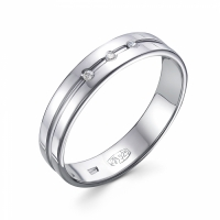 Обручальное кольцо 3-057