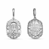 Иконка из серебра Святая Матрона Московская 330062