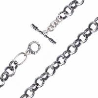 Серебряная цепь 430005